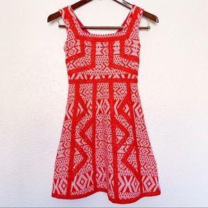 Maeve red white Emma dress